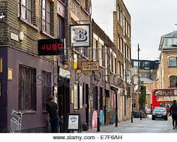 Curtain Street Shoreditch Rivington Street Shoreditch London Uk Stock Photo Royalty Free