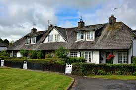 english tudor english tudor row houses in adare ireland encircle photos