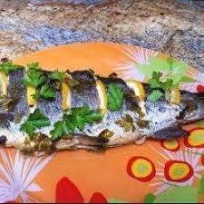 cuisiner truite enti鑽e recette truite entière en papillote toutes les recettes allrecipes