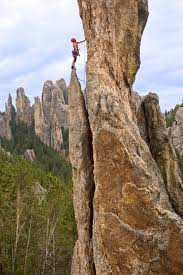 South Dakota best places to travel in the world images Rock climbing in the needles south dakota travel south dakota jpg