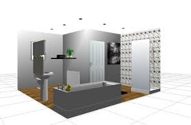 Free Interior Design CAD Opun Planner - Bathroom design 3d
