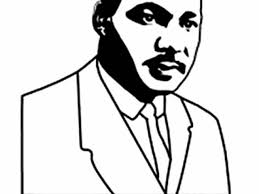 free printable martin luther king coloring pages an artistic sketch of martin luther king jr coloring page martin