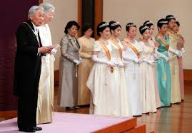 japanese imperial family attended the year ceremony