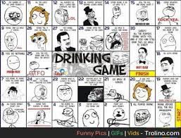 Meme Drinking Game - meme faces drinking game trolino