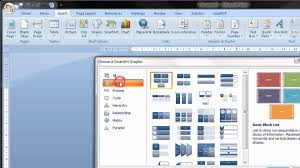 tutorial youtube word create a flow chart in word 2007 2010 2013 2016 step by step