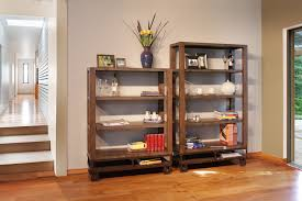 Narrow Wooden Bookcase by Solid Wood Bookcases Unfinished Best Shower Collection