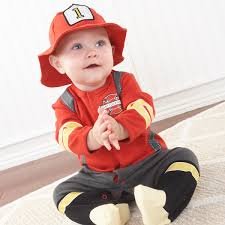 Fireman Costume Big Dreamzzz