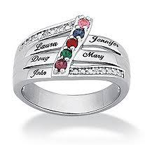 personalized birthstone ring personalized rings women s personalized rings men s personalized