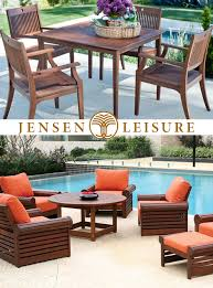 Jensen Outdoor Furniture Patio Perfection Fsc Certified Wood Furniture From Jensen Leisure
