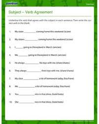 great grammar subject verb agreement subject verb agreement