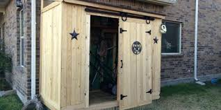 Exterior Shed Doors Lean To Shed Sliding Door Icreatablescom Sliding Shed Doors Lean