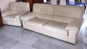 canapé cuir blanc 3 places achetez canapé cuir de occasion annonce vente à colomiers 31