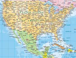 country maps digital vector map selection america political country and