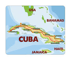 Cuban Map Cuba Classic Rally 2018