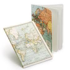 cavallini file folders cavallini vintage maps large notebook set 5 5 x 7 25 journals