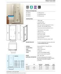 kyra 900 x 700mm pivot shower door pivot door enclosures