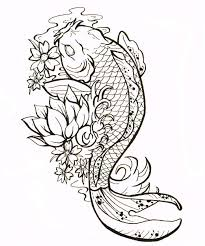 yin yang tribal koi fish tattoo design tattooshunter com