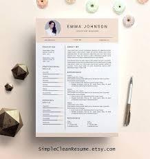 creative resume word template sle word resume creative resume template creative resume by