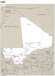 Mali Location On World Map by African Studies Center Mali Page