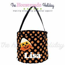 personalized candy corn trick or treat halloween bags u2013 the
