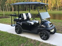 custom four seat cart custom seats low profile wheels and tires