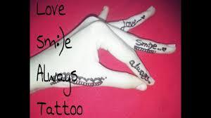 diy henna mehndi tattoo tattoos design beautiful easy heena mehndi