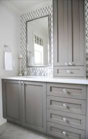 Double Vanity With Tower Bathroom Linen Tower Open Travel