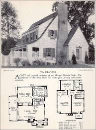 contemporary colonial house plans 1166 best houses images on vintage houses floor plans