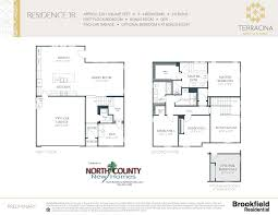 terracina at rancho tesoro new home floor plans north county new