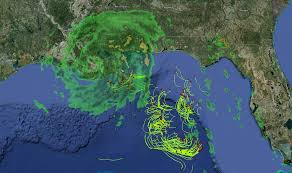 Map Of Ocean Currents Drifters In Path Of Hurricane Isaac Provide New Insights On Ocean