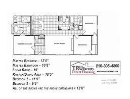 5 Bedroom Manufactured Home Floor Plans Cmh Patriot 3 2 Double Wide Manufactured Home For Sale