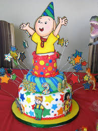 caillou cake topper caillou cake toppers edible birthday image icing topper