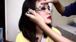 eyeliner tattoo violent eyes eyes temporary tattoo tutorial by chasya youtube