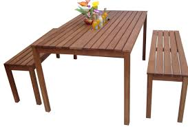 Outdoor Wooden Patio Furniture Furniture Nice Wooden Bench And Fetching Wooden Table For