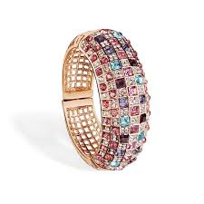 crystal bangle bracelet images Luxury ladies bangles colorful crystal rhinestone bracelets jpg