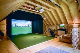 barn garage with golf simulator upstairs the barn yard u0026 great