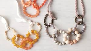 necklace making beaded jewelry images Diy jewelry beaded necklaces make the chicest links martha stewart jpg
