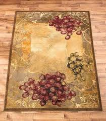 Grapes Home Decor Vineyard Area Rug Grapes Grapevine Rustic Tuscan Country Home Decor