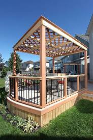 Pergola Deck Designs by 40 Best Deck Designs Images On Pinterest Outdoor Spaces Deck