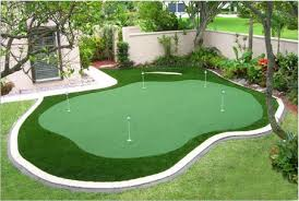 Diy Backyard Putting Green by Back Yard Putting And Chipping Green Blakely Would Be In