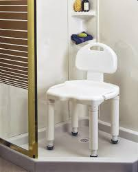 great ideas shower chair bathroom shower bench innovative design provides comfortable seating with weight capacity up to 400 lbs easily assembled with no tools fits into virtually every tub or shower