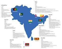 Nepal On Map Saarc Development Fund Secretariat