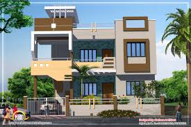contemporary house plan sqft kerala home collection also design