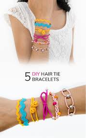 diy hand bracelet images Diy 5 styles of hair tie bracelets friendship bracelets curly made png