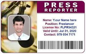 press reporters idcard press card coimbatore and