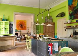 Green Kitchen Design 50 Trendy Eclectic Kitchens That Serve Up Personalized Style