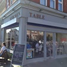 Kitchen Table Cafes  Franciscan Road Tooting London - Kitchen table restaurant london