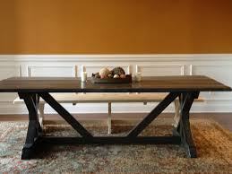 Do It Yourself Home Projects by Ana White Shanty Farmhouse Table Brag Diy Projects