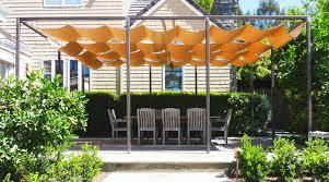 retractable sun shade covered terrace traditional patio san