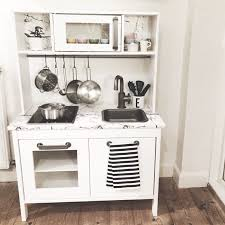 ikea kitchen corner cabinet ikea duktig play kitchen hack chalk kids diy kid toys